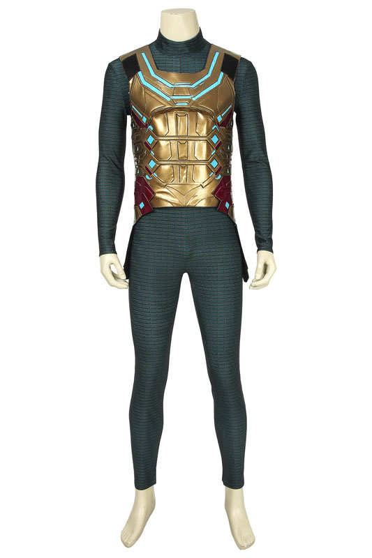 Image 2 - 2019 Spider Man Far From Home Mysterio Cosplay Costume Superhero Jumpsuit Halloween Outfit Any Size-in Game Costumes from Novelty & Special Use