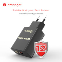 TANGGOOD USB Зарядное Устройство для телефона 18 Вт быстрая зарядка 3.0 КК 3.0 2.0 телефон зарядное устройство для Samsung Galaxy Примечание Xiaomi Mi LG(China (Mainland))