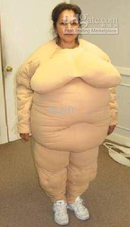 naked female body costume