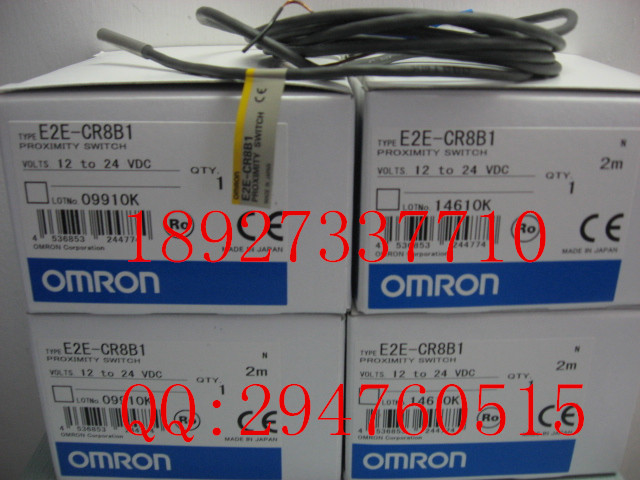 [ZOB] New original OMRON Omron proximity switch E2E-CR8B1 PNP E2E-C04S12-WC-B1 new and original e2e s05s12 wc c1 e2e s05s12 wc b1 omron proximity sensor proximity switch 10 30vdc