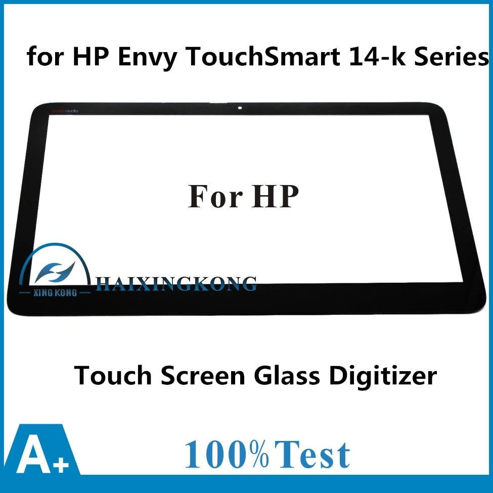 Touch Screen Panel Digitizer Sensor Glass for HP Envy TouchSmart 14-k Series Ultrabook 14-K031TX 14-K102TX 14-K074CA 14-K110NR for hp envy touchsmart ultrabook 4 4 1105dx touch screen glass with digitizer