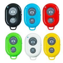 Bluetooth Shutter Remote Control Button Wireless Bluetooth Self-Timer Camera Phone Monopod Selfie Stick Shutter Controller
