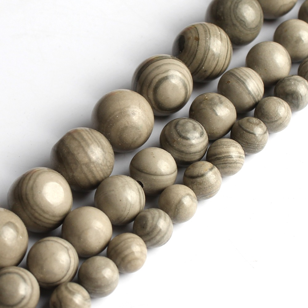 (6/8/10mm) Serpeggiante Stein Lose Perlen Schmuck Machen Perlen Für Armband Natürliche Serpeg Giante Diy Armband Halskette Starke Verpackung