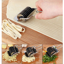 Stainless Steel Manual Non-slip Handle Pressing Machine Noodle Cut Shallot Cutter Spaetzle Pastry Tool for the Kitchen JD223