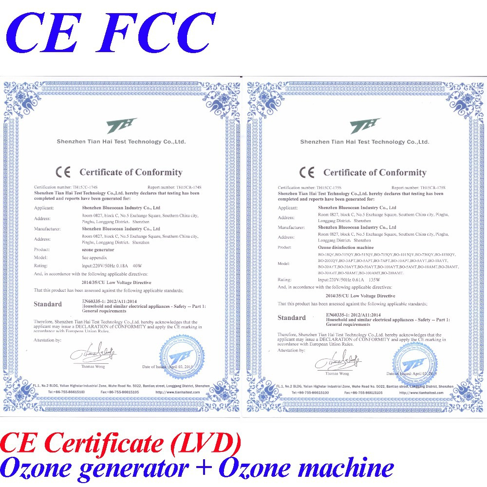 Prodhuesi i ozonit CE FCC për - Pajisje shtëpiake - Foto 5