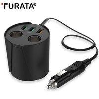YOKIRIN Quick Charge QC3 0 Car Charger 3 USB Ports 2 Socket Cigarette Lighter 12V 24V