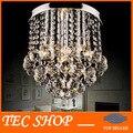 Mejor Precio K9 Araña de Cristal de Luz Accesorio de Iluminación de la Lámpara de Cristal del Lustre Porche 28x de Diámetro Altura 25 cm