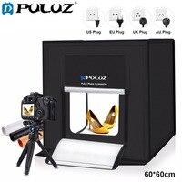 Большой Размеры 60x60 см Портативный складной lightbox фотостудия Софтбоксы светодиодный свет софтбокс для DSLR Камера фото задний план