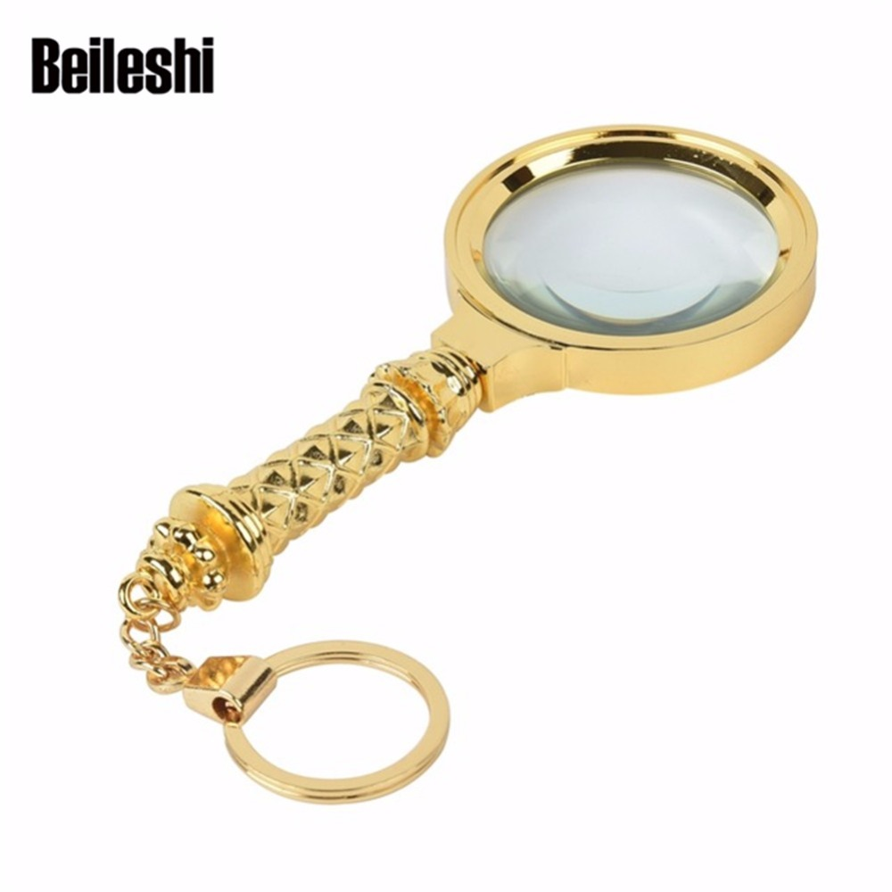 Buy Beileshi 30x 60x 90x Magnifier Led Uv Jewelry Man Hand Holding A Magnifying Glass Above Circuit Board 10x Magnification Lupa Optical Lenses Zinc Alloy Metal Reading Hb60
