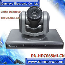 DANNOVO HDMI PTZ Camera for Video Conference System, China 10x Zoom, HD-SDI,DVI,HDMI,YPBPR,AV, Support Image Flip Function