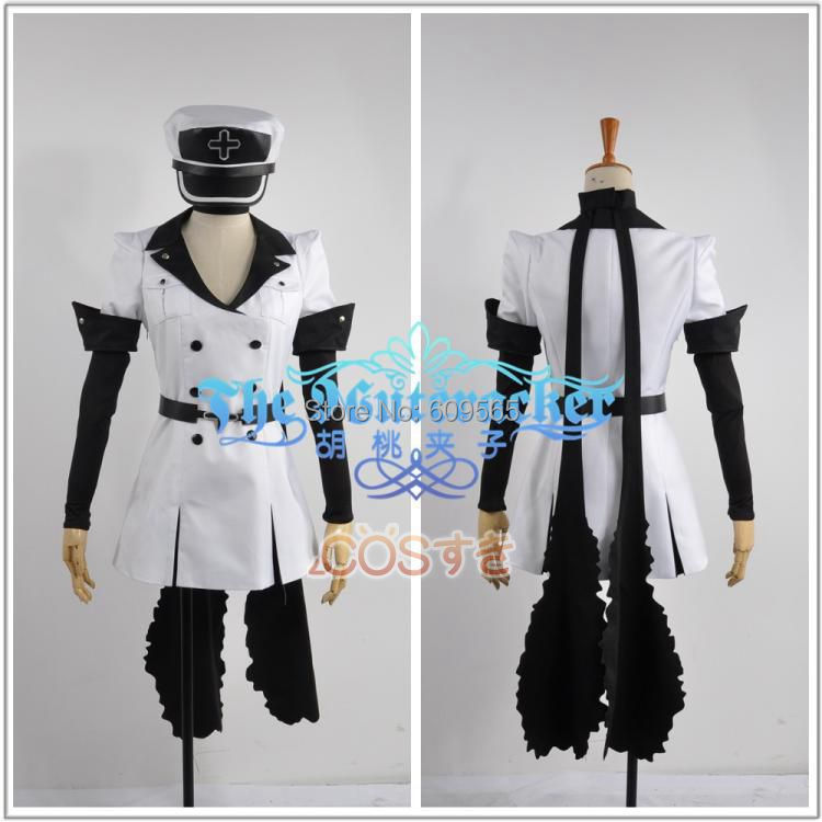 Transport gratuit! Akame Ga Kill Esdeath Costum Cosplay Custom Made - Costume carnaval