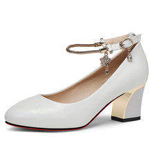Women Pumps High Heels Fashion Sexy Comfort Ladies Shoes Sheepskin Leather Pointed Toe Classic YG-A0293