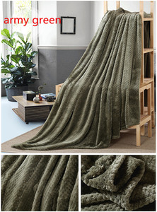 Image 5 - CAMMITEVER Thick Blankets for Sofa Home Textile Fleece Blanket Warm Soft Throw Sofa/Bed/Plane/Travel Bedspread Bed