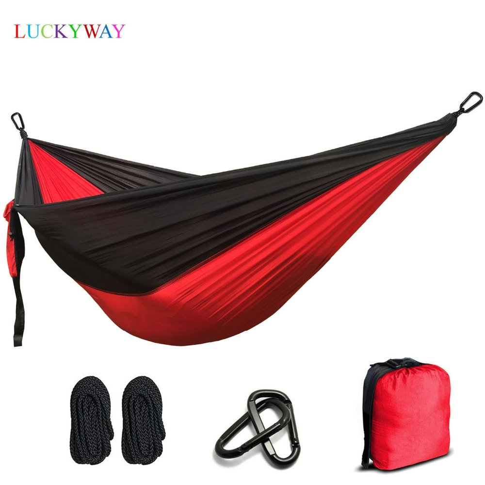 2 people Hammock 2019 Camping Survival Garden Hunting Leisure Travel Double Person Portable Parachute Hammocks FREE SHIPPING2 people Hammock 2019 Camping Survival Garden Hunting Leisure Travel Double Person Portable Parachute Hammocks FREE SHIPPING