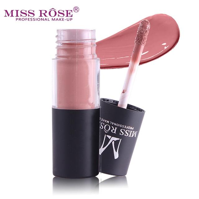 Miss Rose Matte Lipstick Lips Gloss Waterproof Moisturizer Liquid Lipstick Nutritious Easy To Makeup Matt Lip Gloss Lipstick