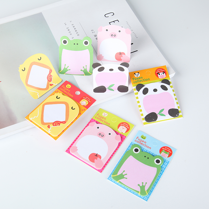 36 pcs/lot kawaii Stationery Forest Animal Series Cute Paper Memo Pad Post Sticky Notes Notepad School Office Supplies