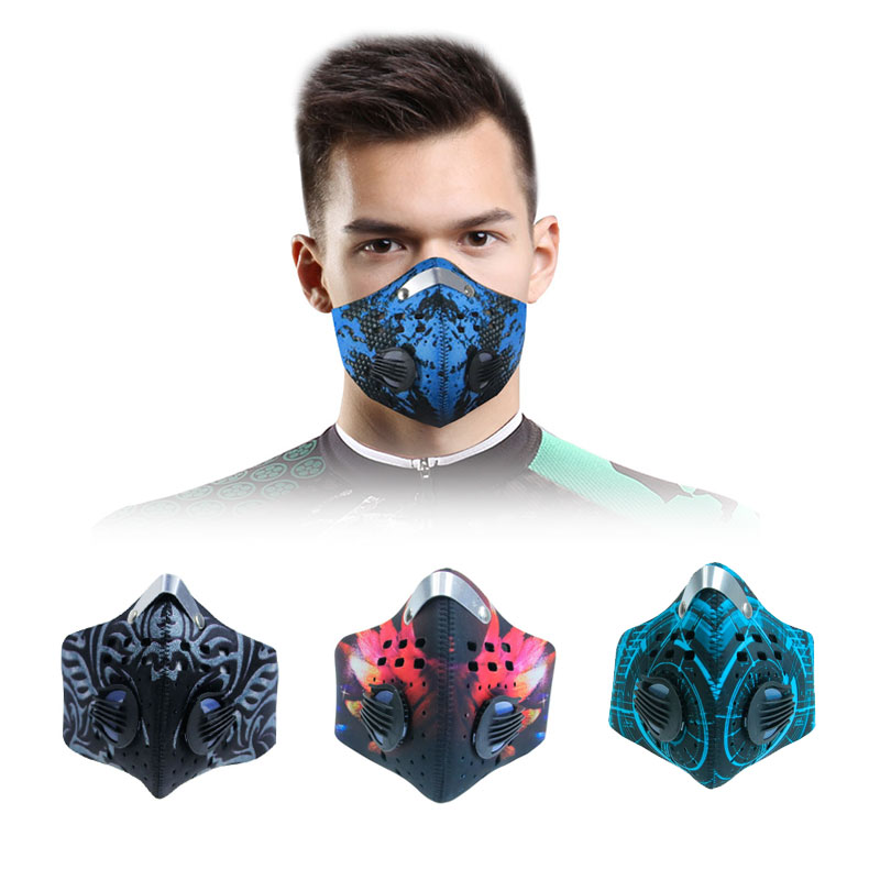 Cotton Unisex Mouth Mask Korean Style Respirator PM2.5 Anti-fog Dust Filter Windproof Face Cover Sponge Breathing Masks