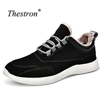 Thestron Sport Sneakers For Men Good Quality Mans Athletic New Arrival Male Walking Shoes Fur Inside
