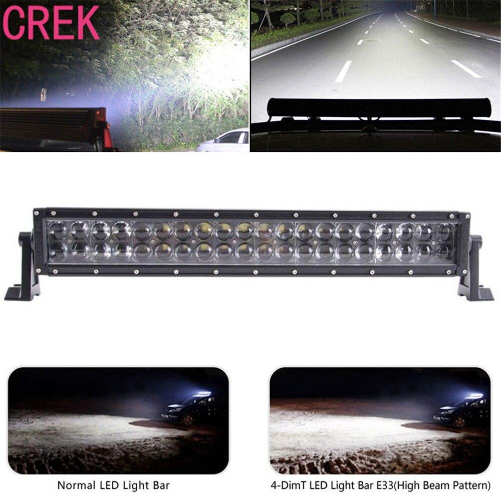 CREK 22 дюйма 200Вт 12В 24В 4Д автомобиля света работы СИД свет работы бар комбо луча для автомобиля грузовика 4x4 внедорожник ATV для бездорожья Противотуманные фары