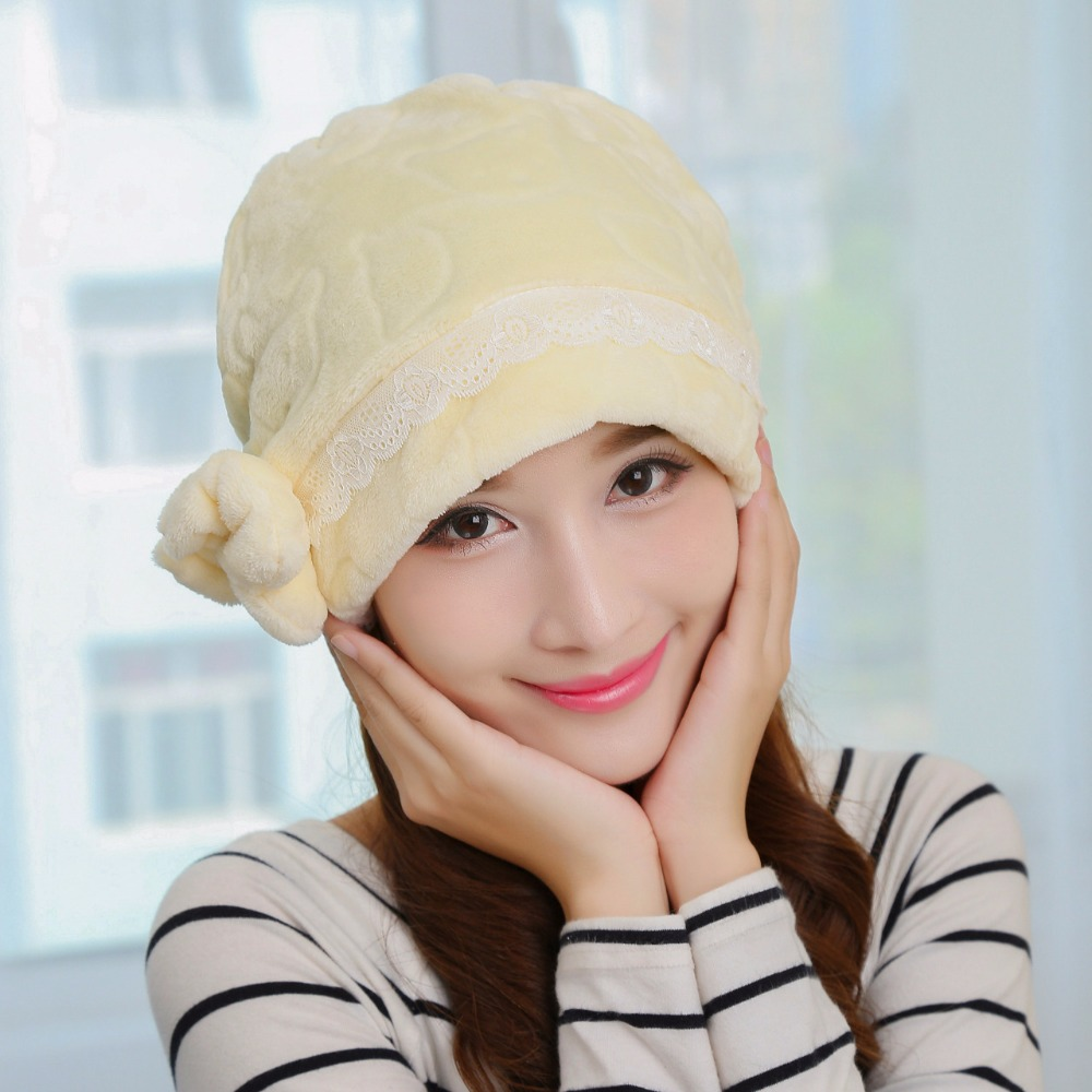 2016 New Spring Autumn Pregnant piles caps womens beanies hat bonnet High  Cost performance Woman multi warm thick hats for women 3dc32299d6