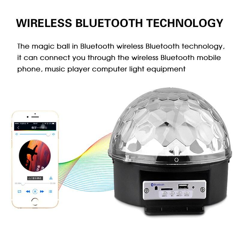Led Bluetooth Dinamik Mərhələ Yüngül Səs Nəzarət Mərhələ - Ticarət işıqlandırması - Fotoqrafiya 2