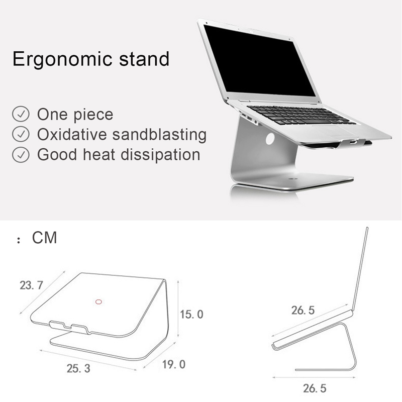 New Lapdesks For 14-17inch Notebook Cooling Cooler Pad Stand For Lenovo Sliver Laptops Desktop Stand Holder For MacBook