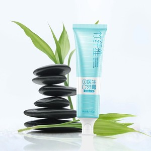 Image 2 - Youpin pasta de dientes de fibra de bambú para el tobillo, dispositivo de cuidado dental activo para la familia, inhibe el crecimiento de bacterias