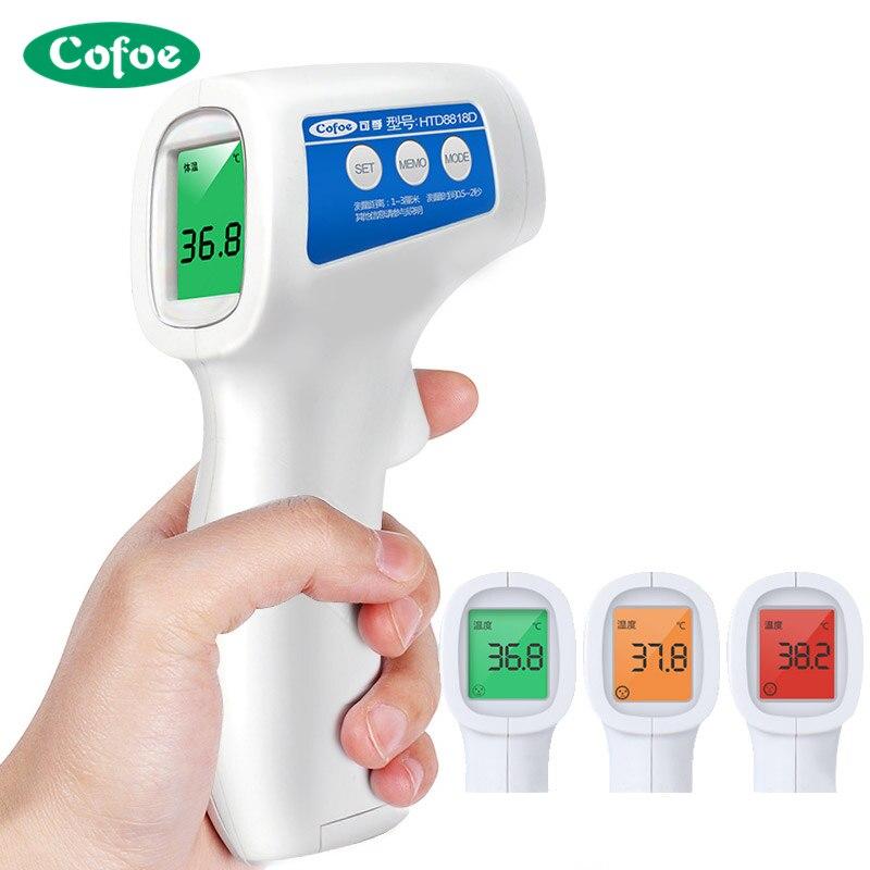 Cofoe Stirn Nicht Kontaktieren Infrarot Baby Thermometer Körper Temperatur Fieber Digitale Maßnahme Werkzeug für Baby Erwachsene