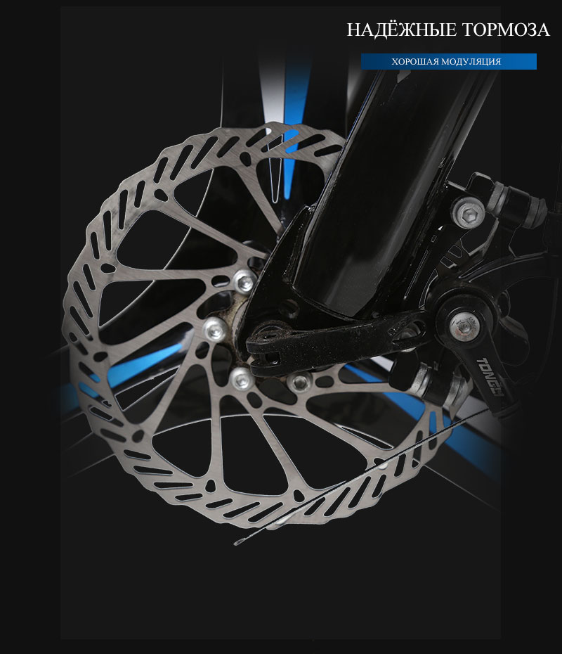 HTB1FpiPiyAnBKNjSZFvq6yTKXXab 26 inches 21 Speed Folding Bicycle Male / Female / Student Mountain Bike Double Disc Brake Full Shockingproof Frame Brakes