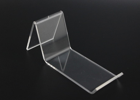 3e9ab237f25 Clear A Acrylic Shoe Support Stand shoes Bracket Holder L-Type Shoe Display  stand shelf display desktop shoes holder rack