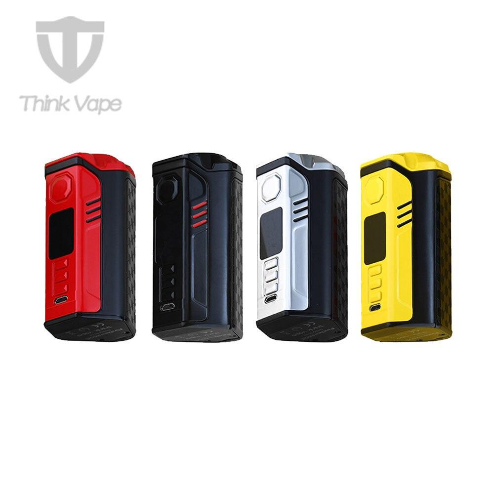 2018 Новый видоискатель Вт Think 300 250C TC коробка мод с ДНК 250C чип и полный цвет экран TFT Вт и 300 Вт максимальный выход E-cig Vape мод