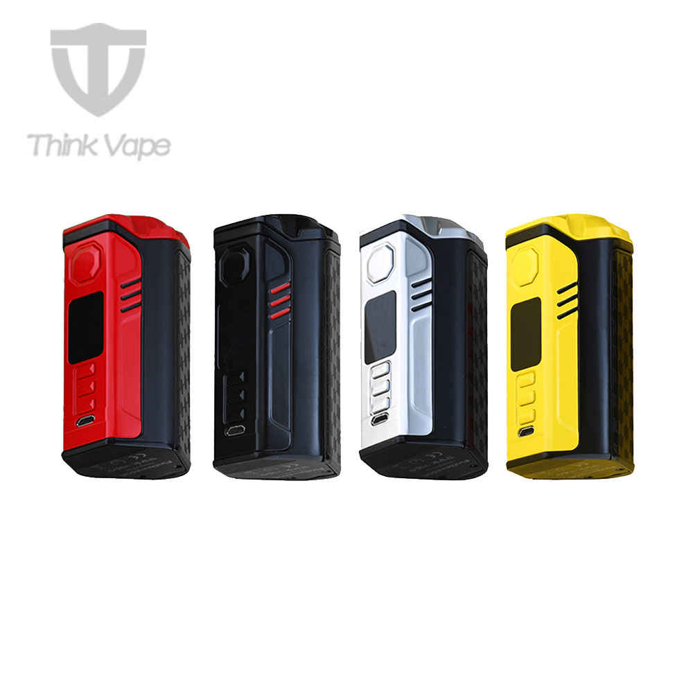 2018 New 300W Think Vape Finder 250C TC Box MOD with DNA 250C Chip & Full Color TFT Screen & 300W Maximum Output E-cig Vape Mod
