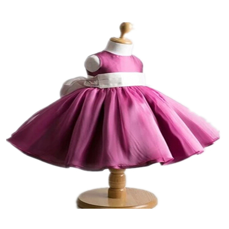 b3b875c9ab BABY WOW New Baby Girl Dress Party Princess for 1 Year Birthday Dresses