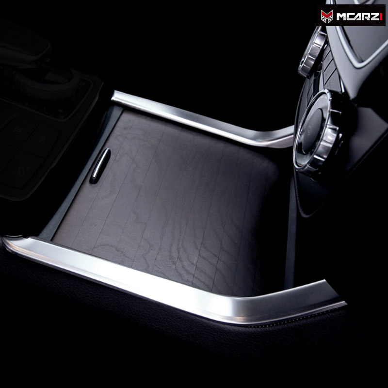 Car Styling Center Console Sticker Cover For Mercedes Benz 2012 <font><b>ML</b></font> 320 <font><b>350</b></font> GLE <font><b>W166</b></font> Coupe C292 GLS X166 GL450 AMG Accessories image