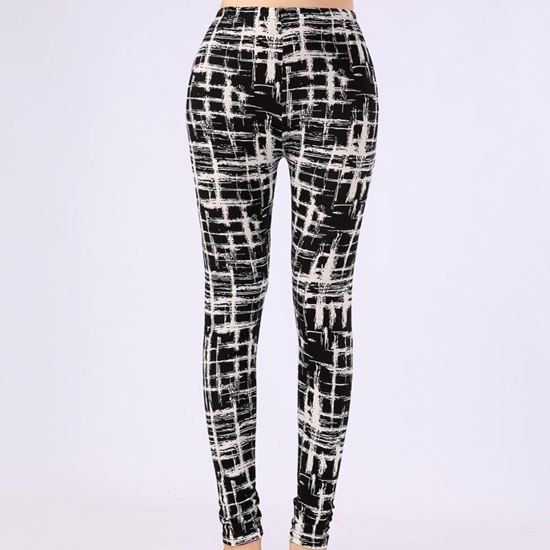 TOIVOTUKSIA Women Leggings Pantalones Black Milk Print Leggings Summer Style Soft Skin Material Nine Women Leggins 11