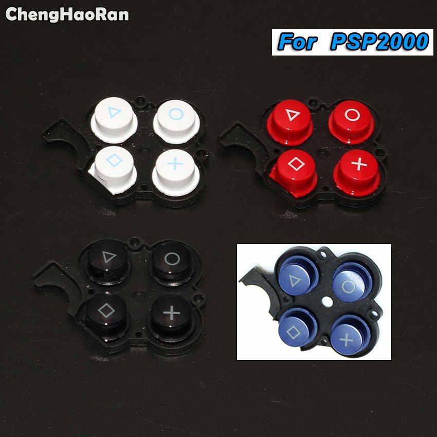 Chenghaoran untuk Sony PS2 PS3 PS4 PSP 1000 2000 3000 Controller Silicone Karet Konduktif Tombol Pad Set untuk Xbox360 XBOX satu