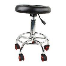 Гидравлический поворотный салонный стул Массаж Татуировки лица спа регулируемый по высоте стул с спинкой кресла для салонов красоты