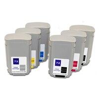 130 ml Cartucho de Tinta Compatível para HP 72 HP72 para HP Designjet T610 T620 T770 T790 T1100 T1120 T1200 T1300 t2300
