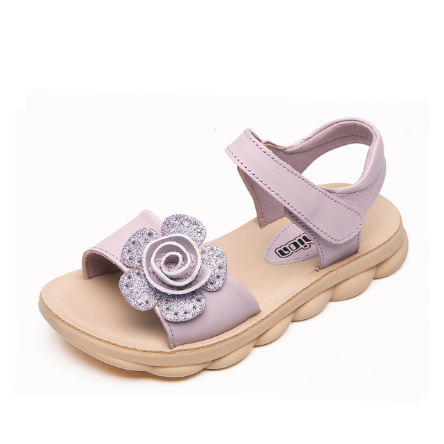 f3af10b60361b ULKNN Girls leather sandals 2019 summer new PINK Kids fashion princess shoes  non-slip children soft bottom shoes size 26-37
