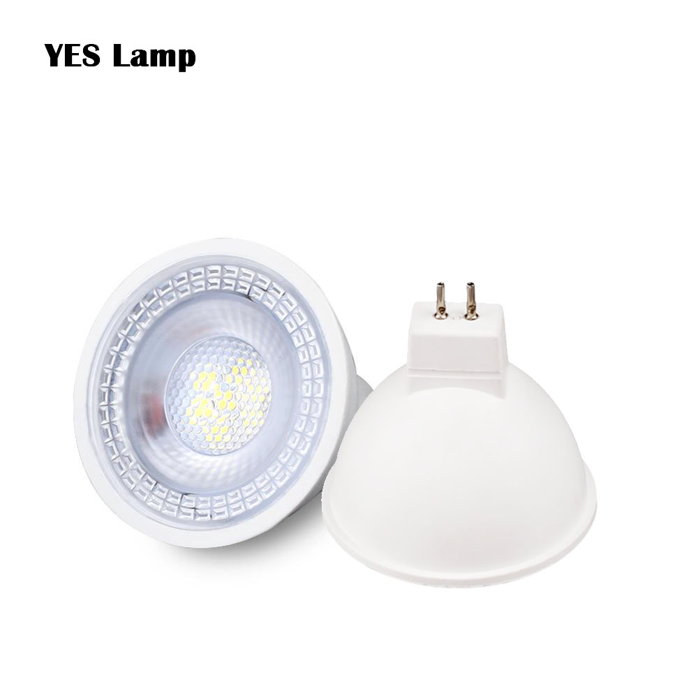 GU10 MR16 LED Bulb Spot Light Lamp GU5.3 Spotlight AC 12V 220V 110V SMD 6W Home Decor Lampara Indoor Energy Saving Bombillas