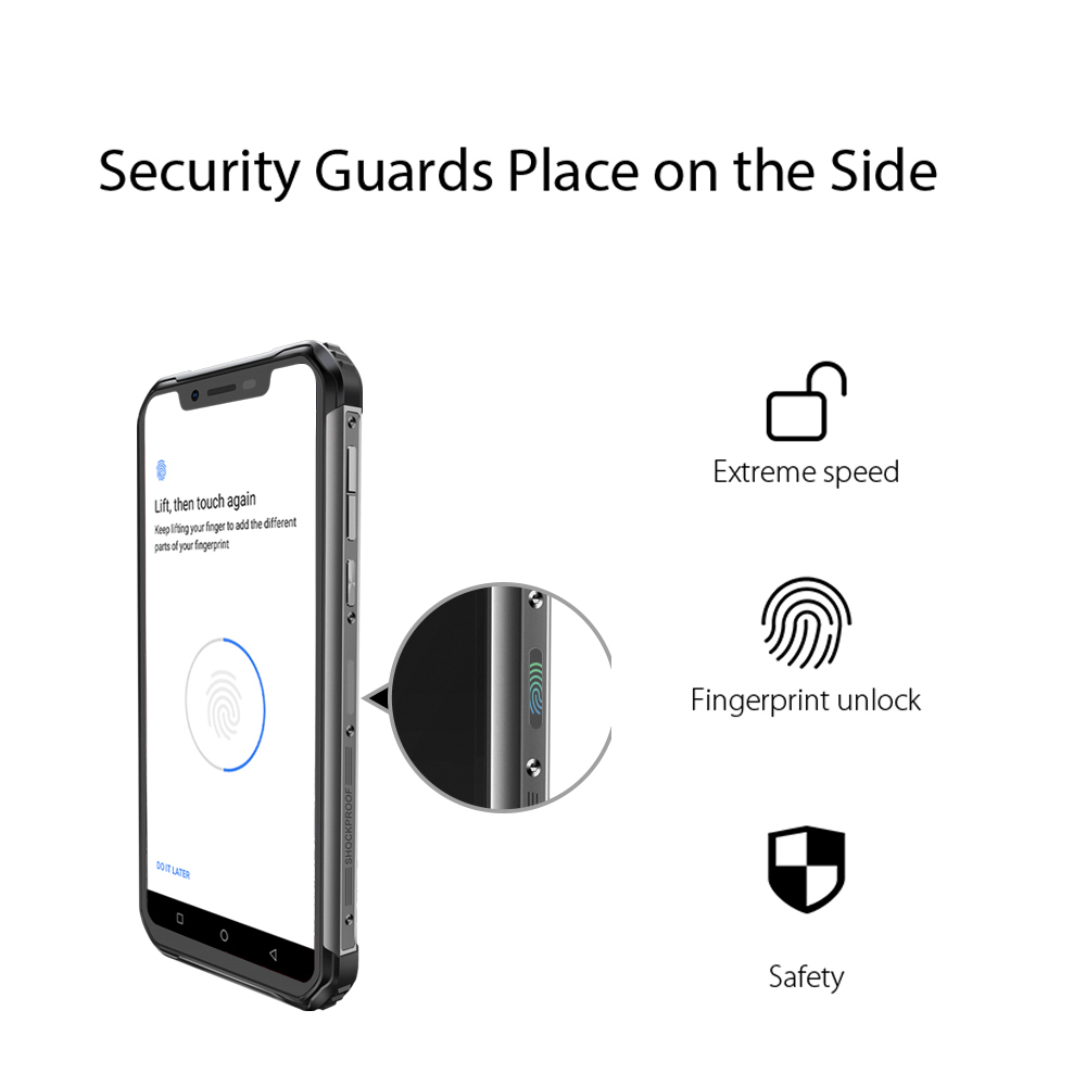 Image 2 - Мобильный телефон Blackview BV9600, водонепроницаемый, Helio P70, на базе Android 9.0, 4 ГБ+64 ГБ, AMOLED экран 6,21 дюйма 19:9, 5580 мАч, защищенный смартфон 2019Смартфоны и мобильные телефоны    АлиЭкспресс