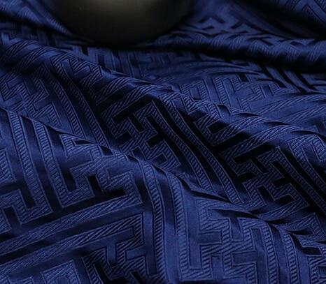 75*50cm Imported Japanese style white Metallic Jacquard Brocade Fabric, yarn dyed fabric for patchwork Women Coat Dress tissue