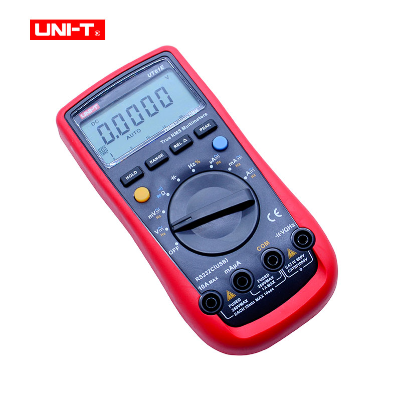Tools : UNI-T UT61E Digital Multimeter True rms Auto Range UT61A B C D AC DC Meter Data Hold Multimetre USB voltage and current monitor