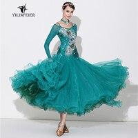 High grade ballroom waltz dance dress ballroom dance competition dresses standard ballroom dancing clothes tango dress S7033