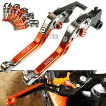 For KTM RC 8 R 8R RC8R 2009-2016 Motorcycle Brake Clutch Levers Adjustable Folding Extendable Levers Motorbike Accessories Parts cnc aluminum motorbike motorcycle brake clutch levers foldable extendable for ktm rc8 rc8r rc 8 rc 8r rc 8 8r 2009 2016