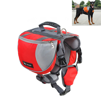 HJKL Hot New Dog Fashion Harness for Large Dogs Harness Pet Vest Outdoor Puppy Small Dog Leads Accessories Carrier Backpack 55