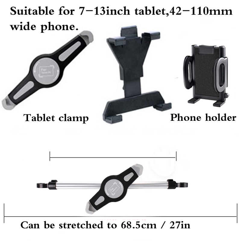 Universal Holder 360 Degree Rotation Adjustable Back Seat Stand Car Rear Pillow for Mobile Phone Pad Tablet car holder in Tablet Stands from Computer Office