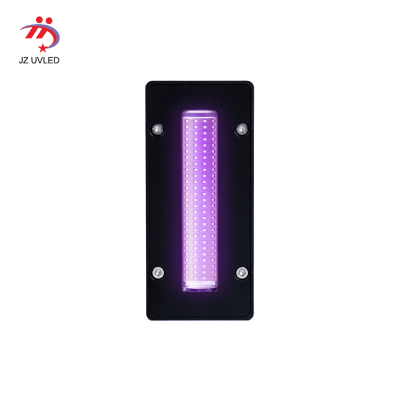 600w 70x15mm cob water cooling UV LED curing machine for varnish unit