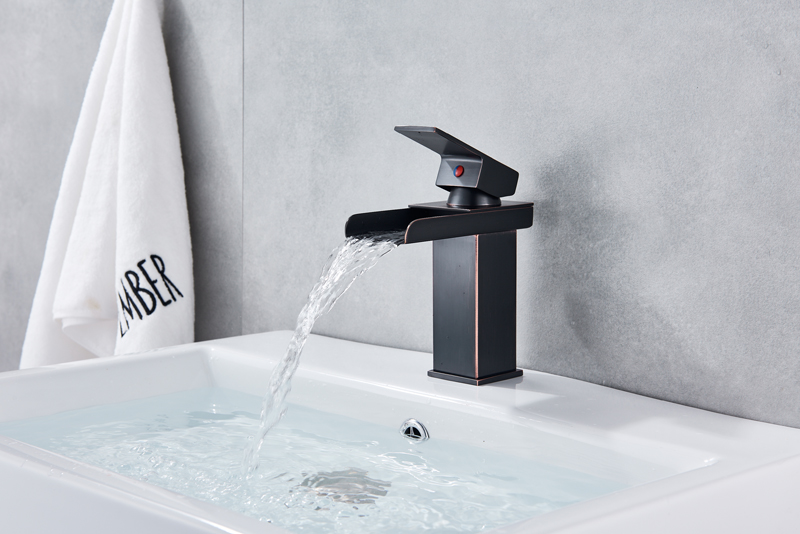 HTB1FplgXzDuK1Rjy1zjq6zraFXao Wholesale And Retail Deck Mount Waterfall Bathroom Faucet Vanity Vessel Sinks Mixer Tap Cold And Hot Water Tap