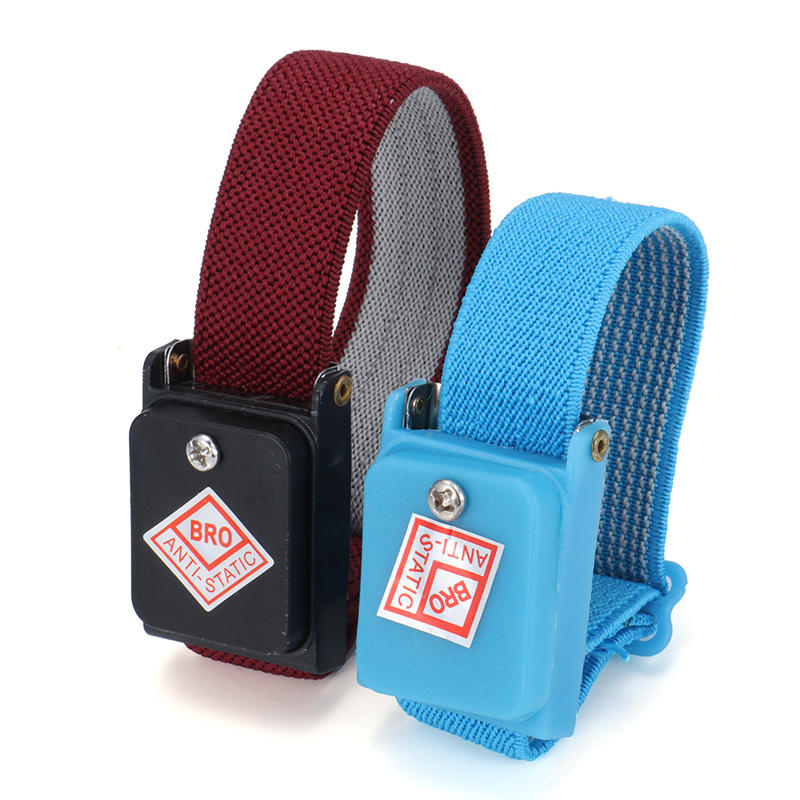 Anti Static Bracelet Electrostatic Cordless Wireless Adjustable Esd Discharge Cable Wrist Band Strap Hand With Spare Wristband Fancy Colours Hand & Power Tool Accessories